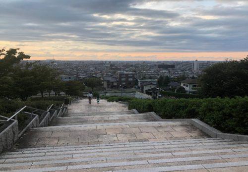 大乗寺丘陵公園散策路階段改修工事(金沢市)